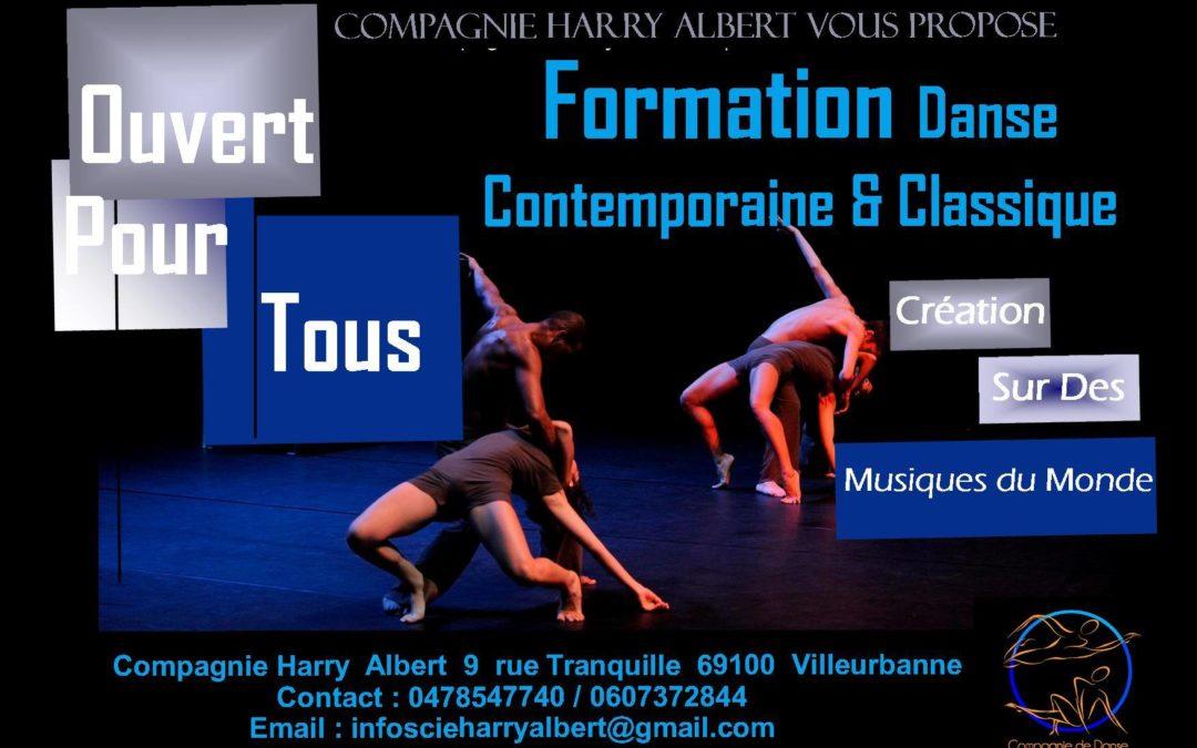 Formation danse contemporaine & classique